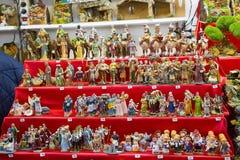 Figuras del pesebre Foto de archivo libre de regalías