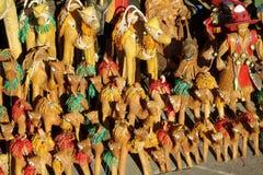 Figuras do camelo da lembrança em Marrocos Imagem de Stock Royalty Free