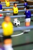 Figuras do futebol da tabela Fotos de Stock