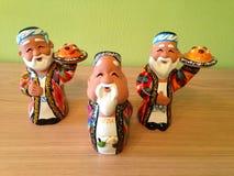 figuras do homem da argila Imagem de Stock Royalty Free