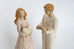 Figuras do homem e das mulheres Imagens de Stock Royalty Free