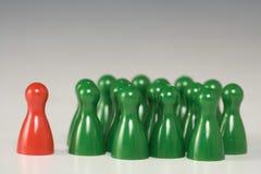 Figuras do jogo Foto de Stock