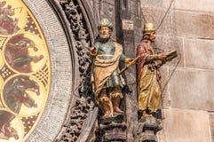 Figuras do Memorialist e do sonhador Foto de Stock Royalty Free