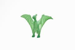 Figuras do plástico do brinquedo do dinossauro imagem de stock royalty free