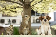 Figuras dos animais Foto de Stock