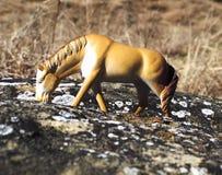 Figuras dos cavalos foto de stock royalty free