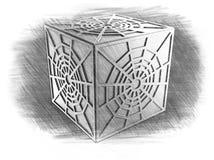 Figuras em que todos pode encontrar algo novo e interessante para se ilustração royalty free