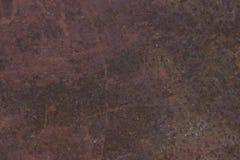 Figuras em uma folha oxidada Fotografia de Stock