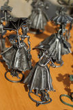 Figuras forjadas fotografía de archivo libre de regalías