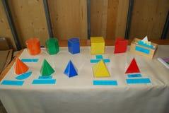 Figuras geométricas Foto de Stock