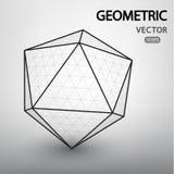 Figuras geométricas construidas por una rejilla Fotos de archivo