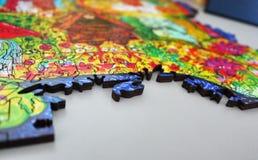 Figuras inusuales y hermosas del material colorido Diversas dimensiones de una variable geométricas foto de archivo