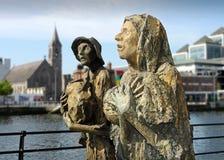 Figuras irlandesas del hambre Foto de archivo