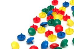 Figuras Multi-coloured Fotos de Stock Royalty Free