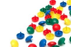 Figuras multicoloras Fotos de archivo libres de regalías