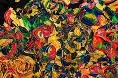 Figuras multicoloras abstractas de las curvas Imagenes de archivo