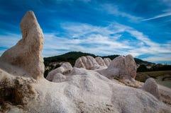 Figuras naturais da pedra calcária Fotografia de Stock Royalty Free