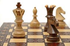 Figuras da xadrez Imagens de Stock Royalty Free