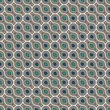 Figuras que entrelazan fondo del tessellation Formas geométricas repetidas Ornamento étnico del mosaico Fondos orientales Fotos de archivo