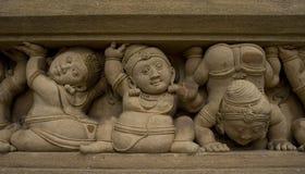 Figuras talladas de enanos foto de archivo libre de regalías