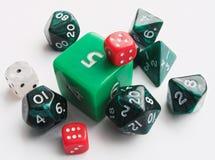 Figuras verdes. Imagens de Stock