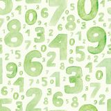 Figuras verdes Fotografia de Stock