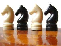 Figure 3 di scacchi Immagini Stock Libere da Diritti