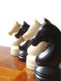 Figure 4 di scacchi Fotografia Stock Libera da Diritti