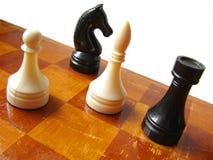 Figure 6 di scacchi Fotografia Stock Libera da Diritti