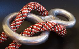 Figure 8 With Rope Stock Image
