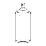 Figure aerosol sprays icon. Illustraction design Royalty Free Stock Photo