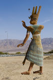 Figure of ancient Egyptian man Royalty Free Stock Photo