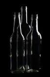 Figure astratte della bottiglia Fotografie Stock Libere da Diritti