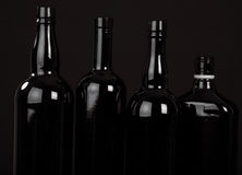 Figure astratte della bottiglia Fotografia Stock