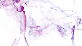 Figure astratte Fumo video d archivio