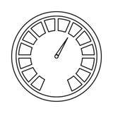 Figure beer meter icon image design. Illustration Royalty Free Stock Image