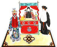 Figure of beijing opera Royalty Free Stock Photo
