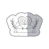 Figure bird shaped heart icon Royalty Free Stock Photography