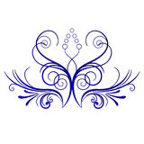 Figure branch banner. Vector illustration of plants Figure branch banner Royalty Free Stock Image