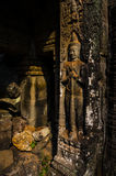 Figure of Buddha. In standing position Stock Photography