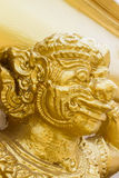 Figure of buddhist angel in a temple. Figure of buddhist angel on the wall Stock Images