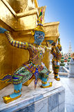 figure from the buddhist temple of Bangkok Royalty Free Stock Image