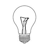 Figure bulb icon image Stock Photos
