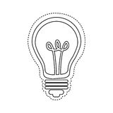 Figure bulb icon image Royalty Free Stock Photography