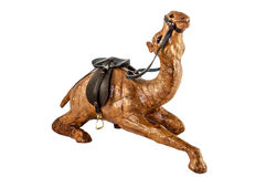 Figure of camel isolated Stock Images