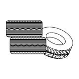 Figure cars tires icon image. Illustration design Stock Photos