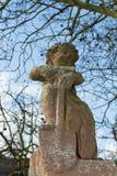 Figure at catholic church. Seligenstadt Rhein Stock Images