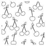 Figure cherrys background icon. Illustraction design image Royalty Free Stock Photo