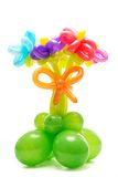 Figure from colourful balloons Royalty Free Stock Photo