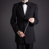 Figure conductor. Stock Images